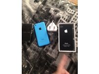 2 iPhone's Spares Or Repairs iPhone 4 and iPhone 5c £20 Pair