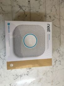 Nest Protect Wired Smoke & CO2 Alarm