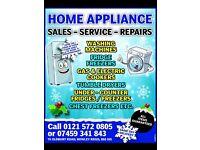 Cookers, Fridge Freezers, W/Machines, Dryers Etc