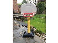 Little Tikes Preschooler garden basket ball hoop with free Little Tikes water table!