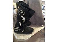 Motor cross mx boots size 8.5/42