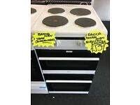 AMICA BRAND NEW 50CM SOLID TOP ELECTRIC COOKER IN WHITE