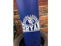 Boxing punchbag with bracket 4ft heavy
