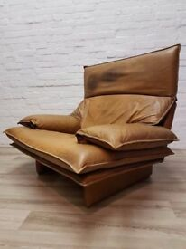 Maralunga Type Armchair (DELIVERY AVAILABLE FOR THIS ITEM OF FURNITURE)