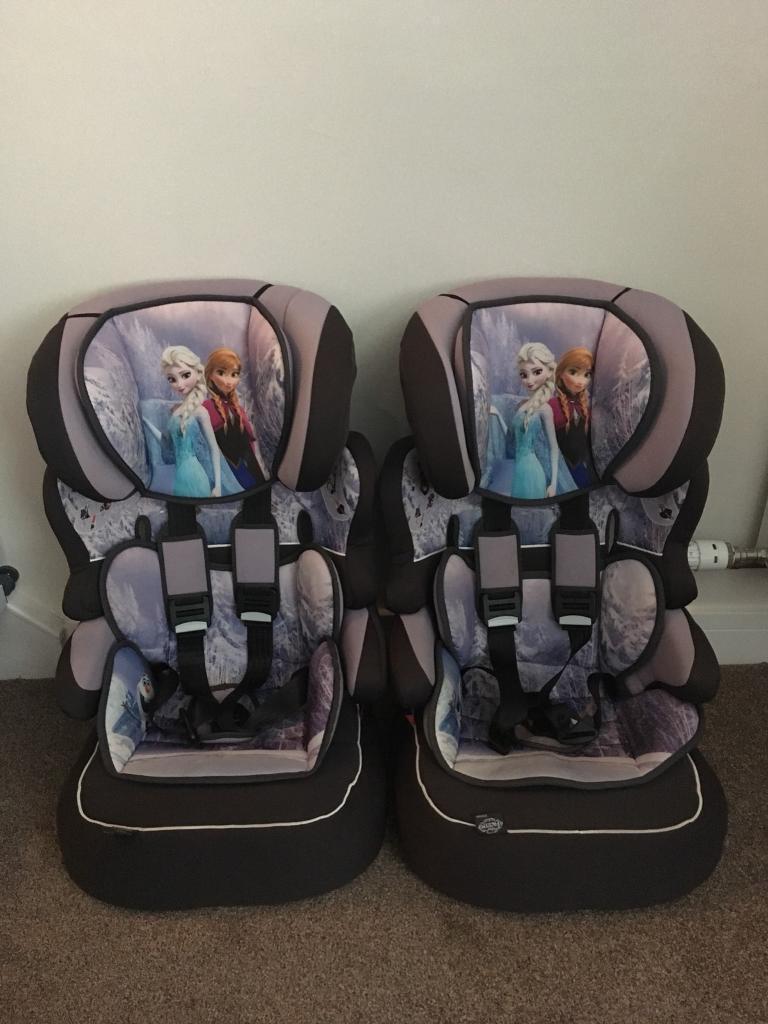 Disney Frozen Beline SP Highback Booster Car Seat With Harness