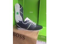 Premium Quality Hugo Boss Shoes For Sale. £50 ONLY. In Navy. Sizes 6-11 Available. Collection Only!