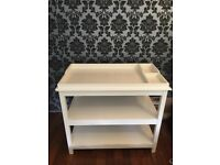 White Company changing table