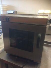 Lincat HT6 4 Plate Cooker Top + Lincat V6 Glass Door Oven,Very Good Condition,Cost £1000 New