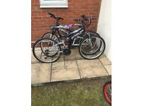 BARGAIN- 3 BICYCLES FOR SALE ONLY £50