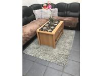 Coffee table and Chester draw set