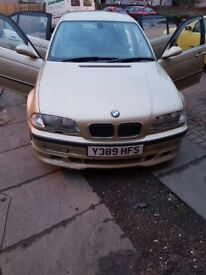 Bmw 330ise manual m3 alloys mot £1000 no offers