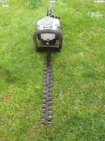 TITAN TTL 531HD petrol hedge cutter works great can be seen working cb5 £55