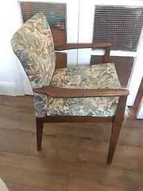 GENUINE VINTAGE PARKER KNOLL VINTAGE 1950s 🇬🇧English chair