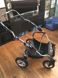 Mikado twin side by side pushchair/travel system