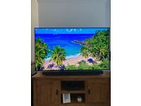 "Samsung 4K UHD Q9FN 65"" Qled Tv + HWN 650 Soundbar Subwoofer"