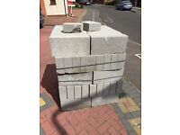 Solid concrete blocks for sale 75 of them for £30