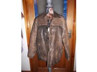 GENTS SHELL LEATHER JACKET BRAND NEW