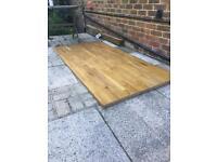 Large Oak table top