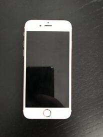 IPHON 6s 64gb rose gold UNLOCKED