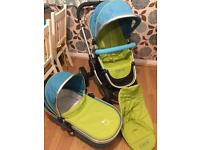 ICandy Peach Pushchair In Sweetpea