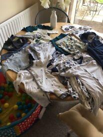Baby boys clothes bundle newborn - 3 months