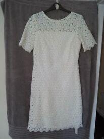 J.D. Williams Joanna Hope ivory lace dress
