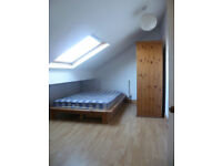 ATTRACTIVE ATTIC ROOM to RENT in SHARED HOUSE