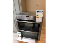 NEFF DOUBLE OVEN - LIKE NEW