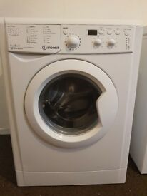 22 Indesit IWDD7123 7+5kg 1200Spin White LCD Sensor Washer/Dryer 1 YEAR GUARANTEE FREE DEL N FIT