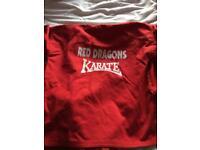 Red dragon gi