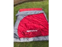 ReadyBed All in One Camping Air Bed - Double - From Argos {RED & GREY)