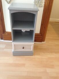 Stag real wood tv cabinet with matching hifi cabinet