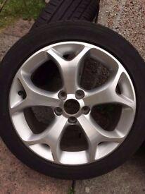 17inch Vauxhall/ Saab VXR Snowflake alloys rims wheels