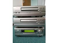 Denon Hi - fi system Stereo cd, tape deck
