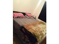 super king size bed with mattress in very good condition.hardly used just for seven eight months