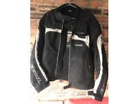 IXON armoured textile motorcycle jacket