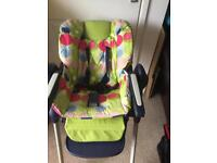 Chicco Polly Highchair and travel Highchair