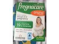 Pregnant care Original 90 tablets plus Fybogel orange 30 Sachets