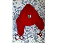 2 BEAUTIFUL SKI HATS - 1 RED - 1 BLUE - NEVER USED - BRAND NEW -