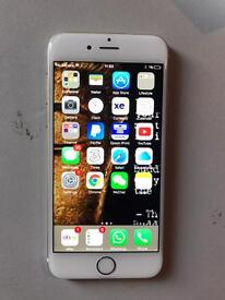 Iphone 6s rose gold 16 gb on three