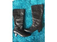 Marks & Spencer Size 5.5 Autograph Leather Boots