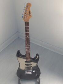 Black HSS Strat copy Electric Guitar
