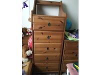 Ikea Leksvik chest of drawers
