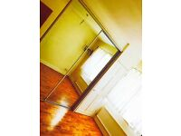 Spacious double room available with fitted wardrobe in nice and clean house