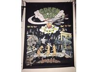Green Day 'dookie' Flag Poster