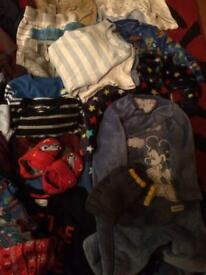 Baby boys clothes bundle 41 items
