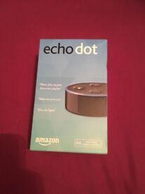 Amazon Echo Dot 2nd Gen Black BRAND NEW UNOPENED