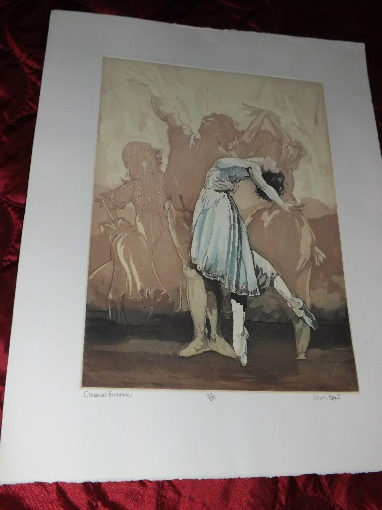 MARK SPAIN SIGNED LIMITED EDITION ETCHING