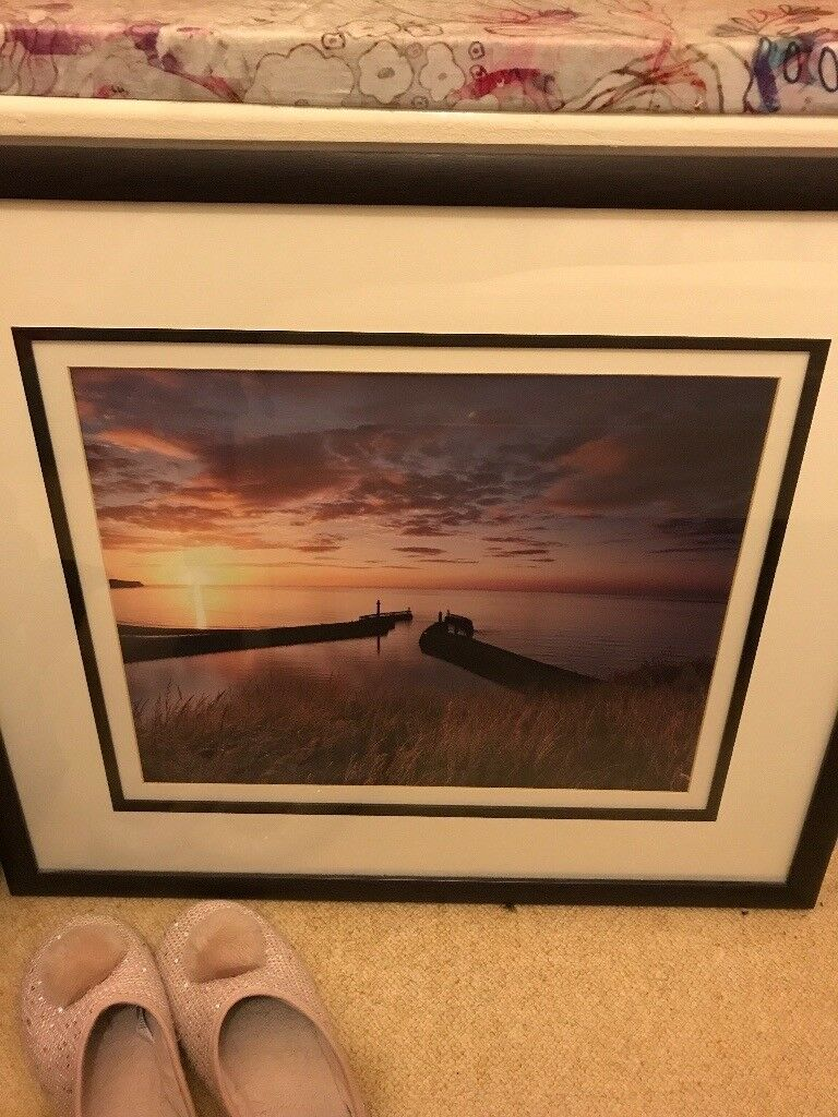 Framed picture John Lewis
