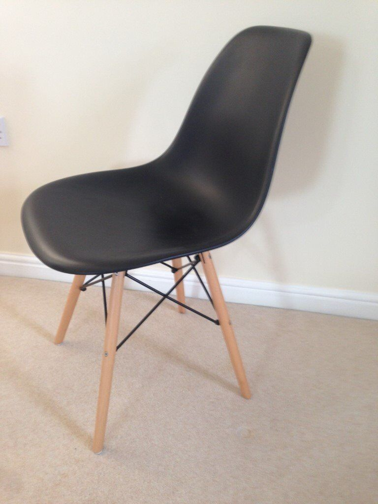 Eames style retro chairs (3 available)